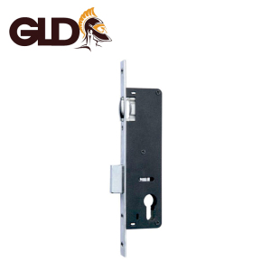 Mortice door lock body wooden door, 35mm backset metal mortise door lock body