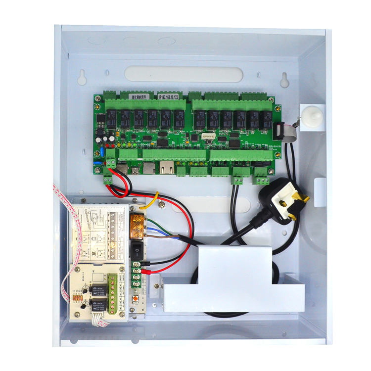 Wiegand TCP/IP Two Doors Access Control Board panel for elevator system