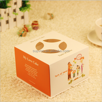 5 inch Cheap Customized Paper Cardboard Birthday Cake Boxes