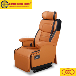 Passenger Seat with electric footrest and massage