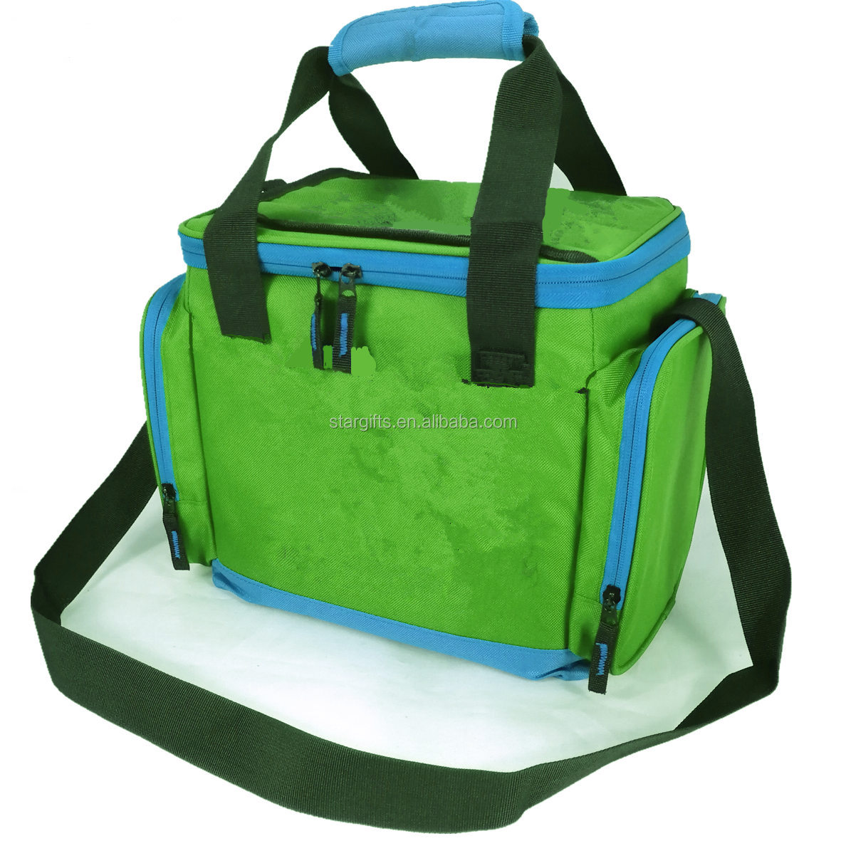 Water-proof Thermal Insulated Large Hard TPE Lined Soft Functional Premium Cooling Cooler Bag with Leakresistant Lining