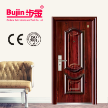 China Factory modern gate designs for homes building materials trade bedroom solid wood Israel security door