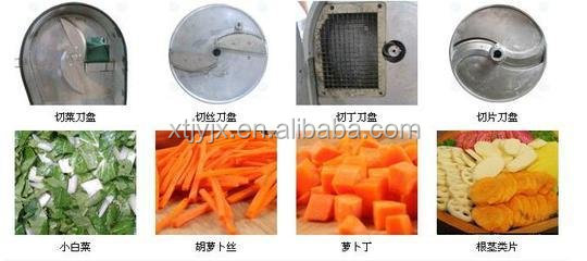 Multifunctional Leafy Vegetable And Fruit Cutting Machine Suting ...