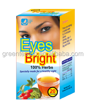 Best seller herbal tea of eyes bright tea for improving eyesight 20 teabags/box