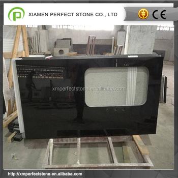 China Inexpensive Bathroom Granite Black Pearl For Countertops Buy - Inexpensive bathroom countertops