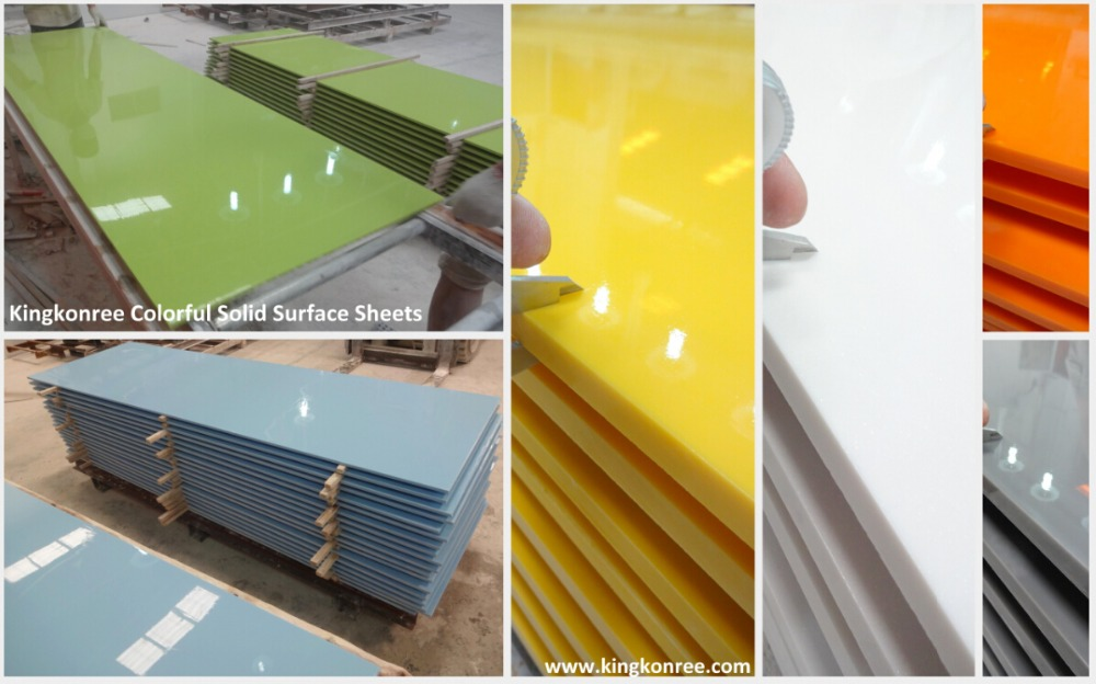 1 2 Resin Panel : Solid surface bar translucent countertop resin panel