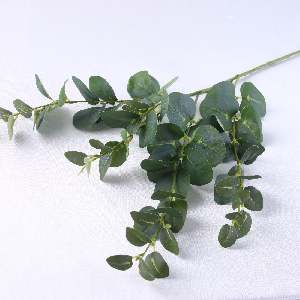 Wholesale <strong>Artificial</strong> Eucalyptus <strong>Artificial</strong> <strong>green</strong> plant money <strong>leaves</strong>