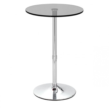 round glass top bar table and chair sets