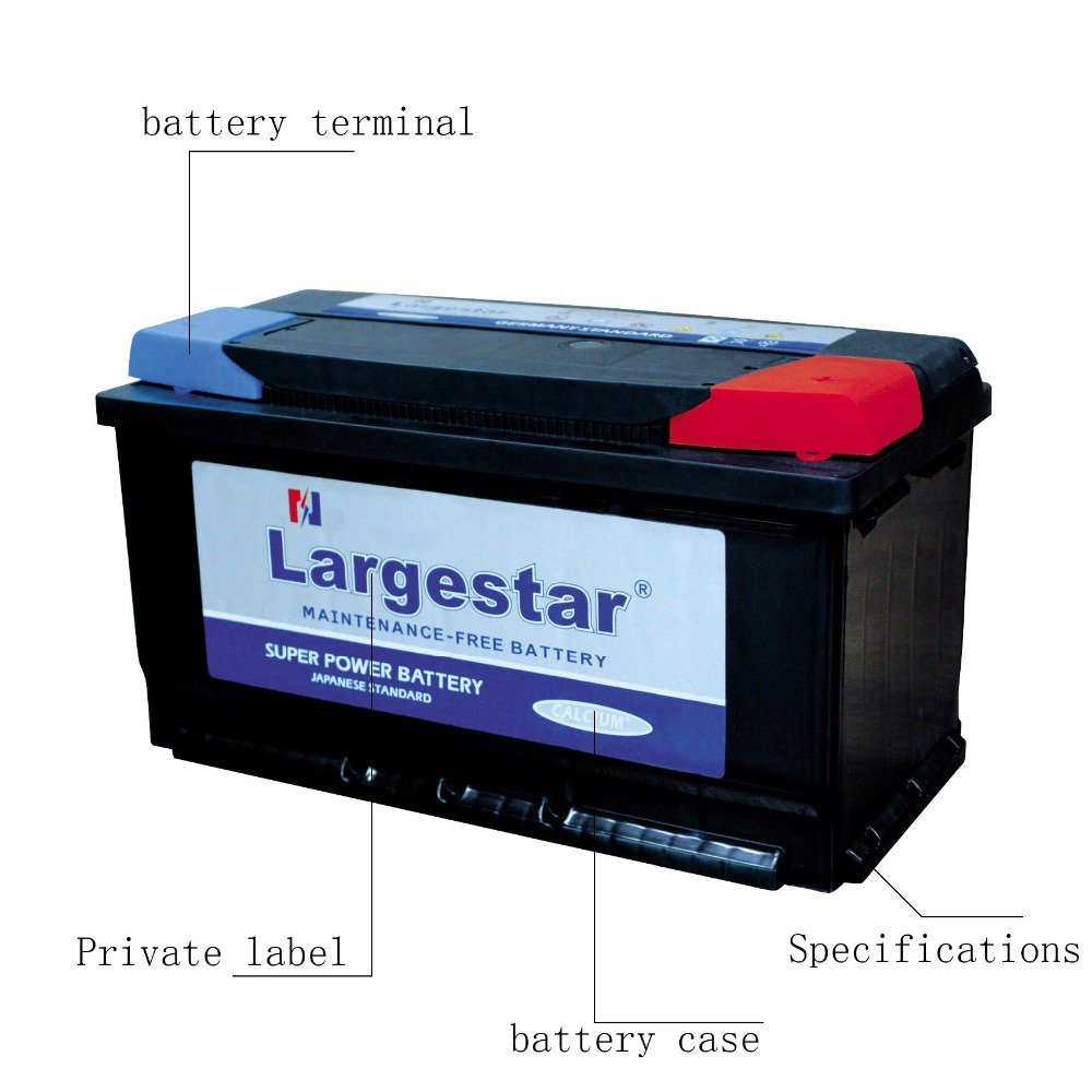 Super Start Lead Acid 12v 100ah Auto Car Battery Prices