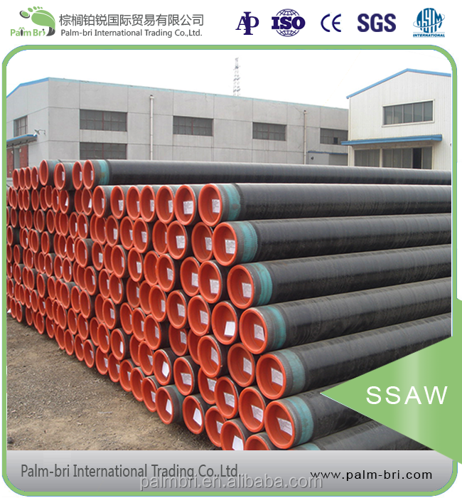 high cost performance SSAW steel pipes in China API 5L pipes