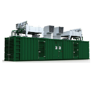 CHP generator by natural gas, LNG, CNG fuel type energy generator with Baudouin engine 625kva 500kw gas generator set