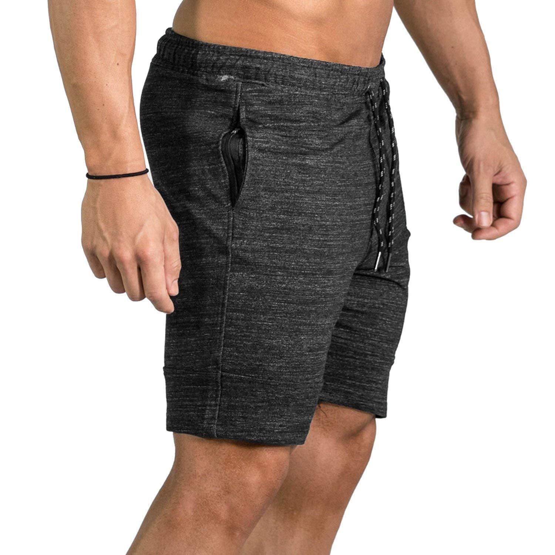 Bansca Cotton Men Shorts Summer 2018 Fashion Beach Zipper Pocket Lining Shorts