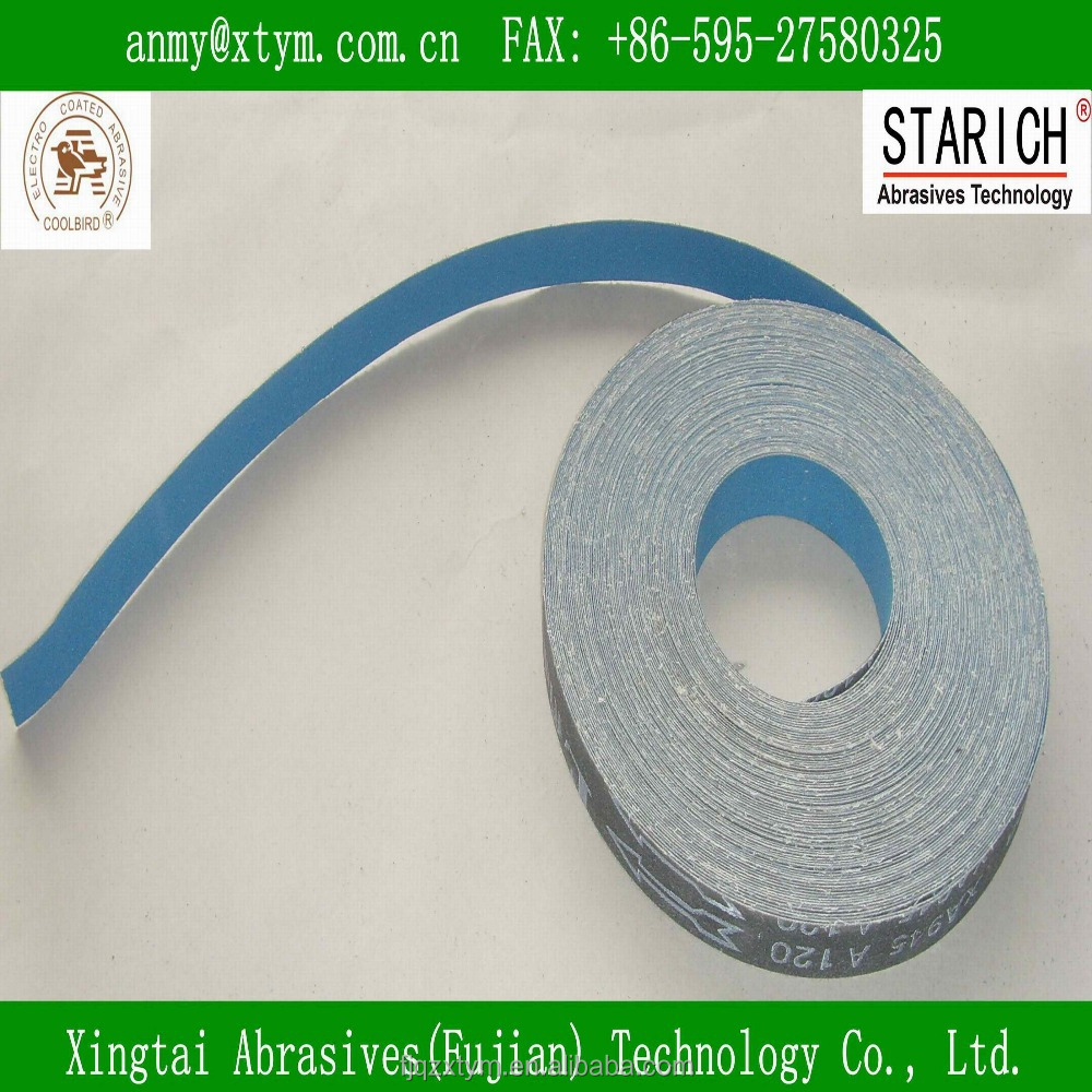 abrasive cloth roll for flap disc machine