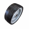 8'' metal rim solid rubber wheel for hand trolley and wagon