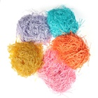 20g Colorful Raffia Shredded Paper Gift Box Filler Crinkle Wedding Party