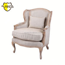 hot selling alibaba modern furniture leisure sofa chair fabric wing sofa chair