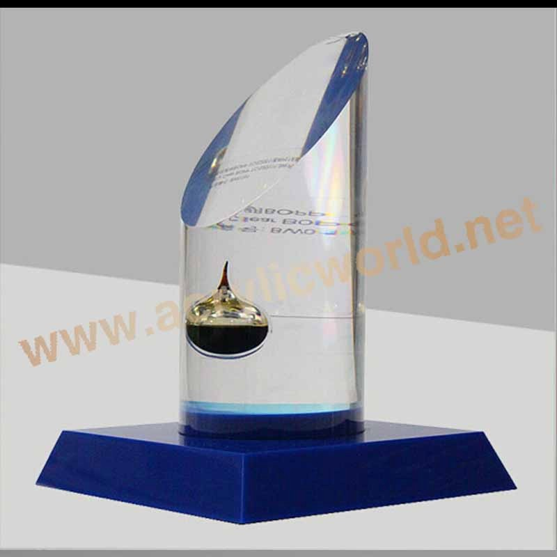 Acrylic Trophy Stand Suppliers Star