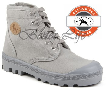 Grey Men Israel Army Boots Dafna Scout Palladium Canvas Combat ...