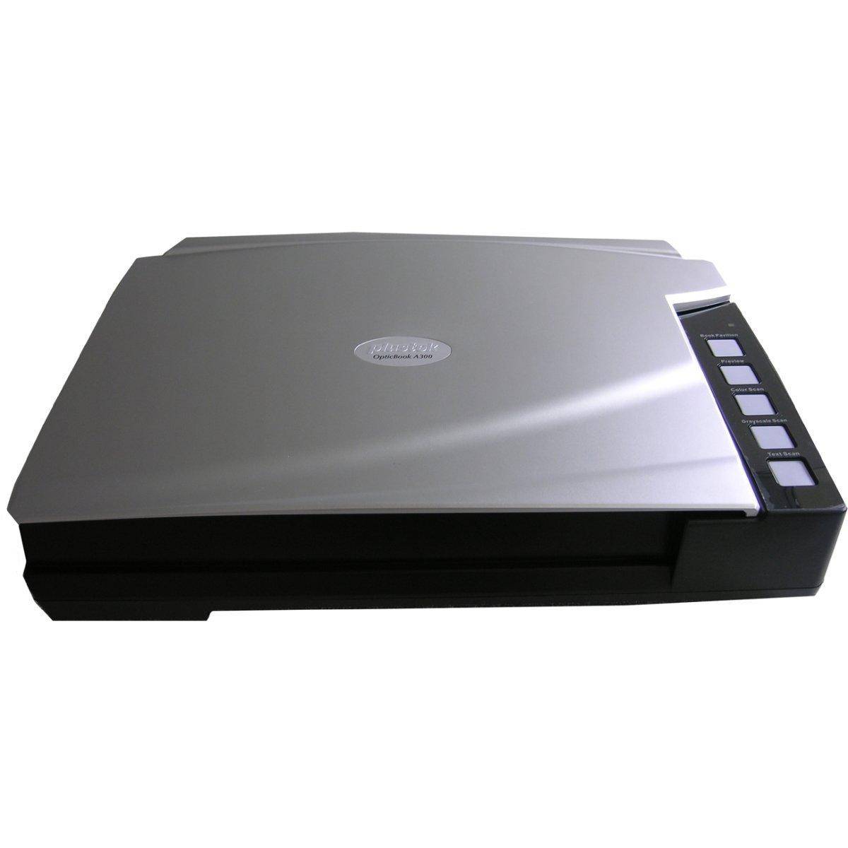 Plustek OpticBook A300 Large Format 12x17 Flatbed Book Scanner - 48 bit Color - 16 bit Grayscale 271-BBM21-C