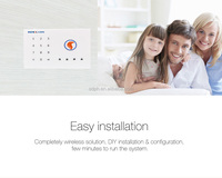 gsm intelligent alarm system manual with ouch keys, high-end fashion PH-G2