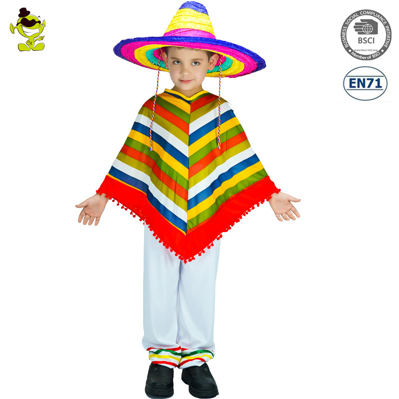 Kids Mexican Costumes Wholesale 69242bcc708a