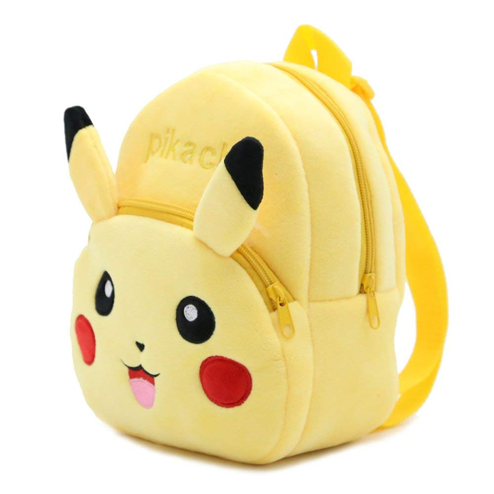 3878fcce97 Get Quotations · Laboo Pikachu Plush Backpack - Premium Quality - Pokemon Toddler  Backpack - Cute Gift for Little