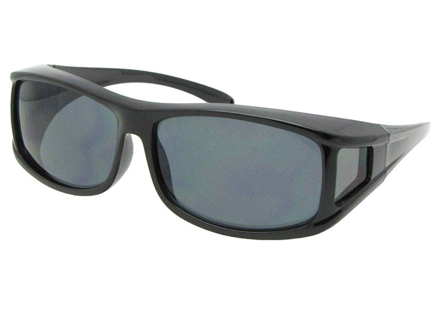 5f15ed6929 Get Quotations · Medium Non Polarized Wrap Around Fit Over Sunglasses Style  F11