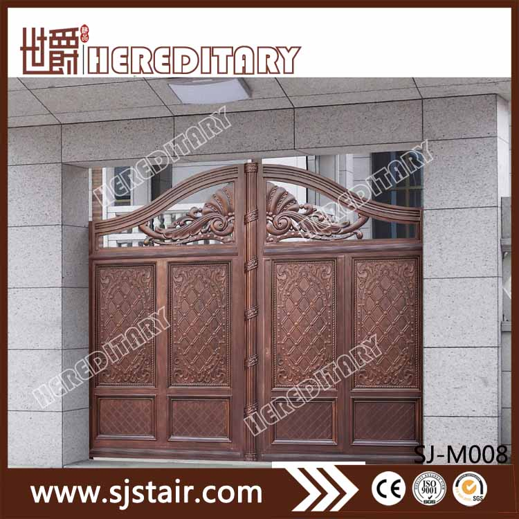 Cheap Indian House Cast Aluminum Entrance Main Gate Design Buy
