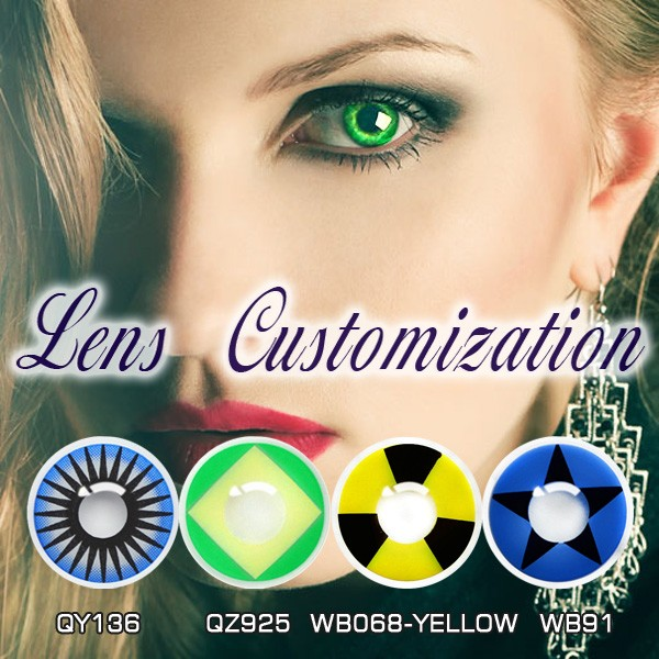 halloween cosplay contacts red zombie eyes crazy contact lenses soft lens