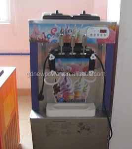New hot sale stainless steel commercial CE approved ice cream making machine/ Soft Serve Ice Cream Machine For Sale