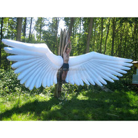 giant inflatable wing, can add LED light inflatable balloon
