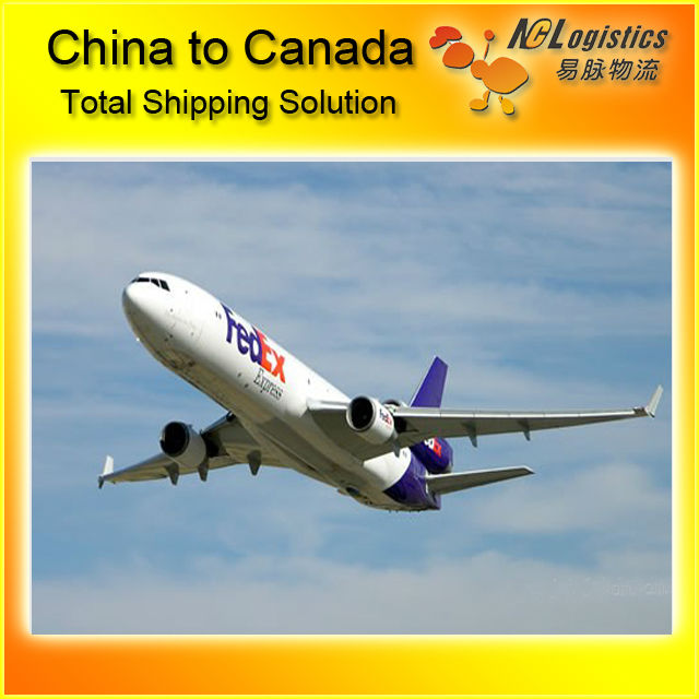 china air express to Canada by Fedex