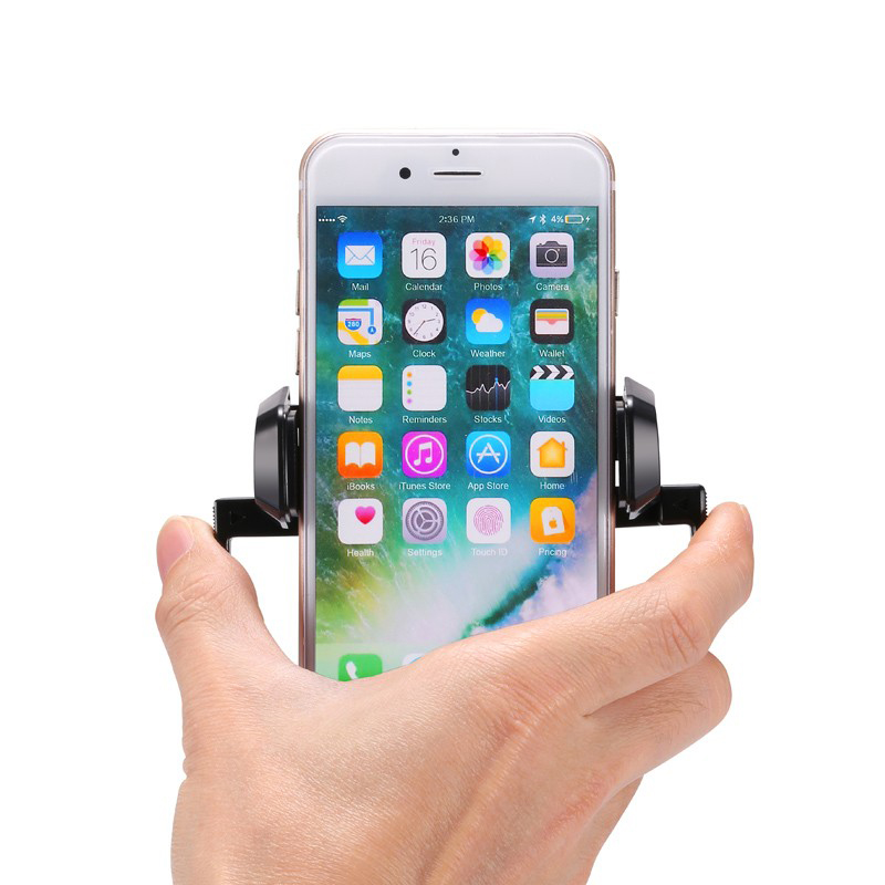 SJ-T-100 Cell phone clamp auto holder car accessories air vent holder