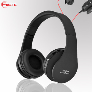 Foste-8252, The Newest Blue tooth Sport Headphones Stereo, Wireless Blue tooth Headset, Sound Magic on-ear Headphones#