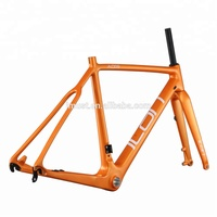 Hot carbon Cyclocross frame cyclocross bicycle frames carbon bike frame Disc