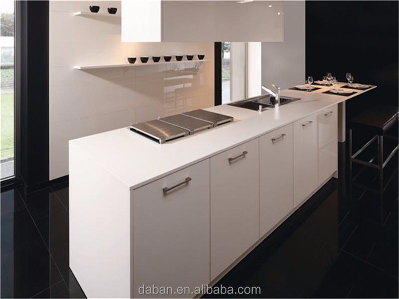 Mdf gabinete de cocina del modelo y barra de desayuno taburete sitio reino unido dise ador - Disenador de cocinas ...