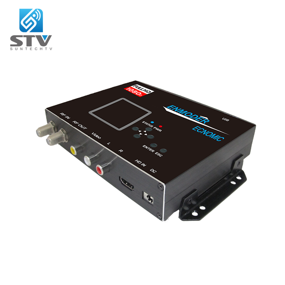 High Quality HD HDMI to DTMB Modulator Optimized for cascading multiple modulators on your coaxial network