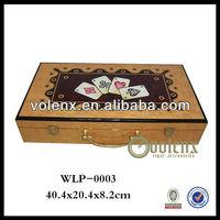 Wholesale Shenzhen 300pcs Wooden Poker Chips Set