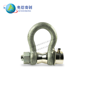 Autostrong waterproof load pin cell 5 ton~ 55ton load shackle load cell forklift crane force sensor with shackle