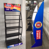 Automotive motorcycles accessories display stand for motor oils