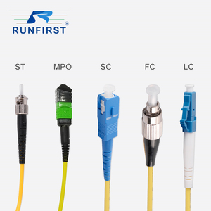 ST FC LC SC single mode fiber optic cable assembly manufacturers