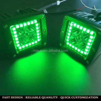 12v waterproof led light bar color changing pods 4 led light bar 12v waterproof led light bar color changing pods 4quot aloadofball Gallery