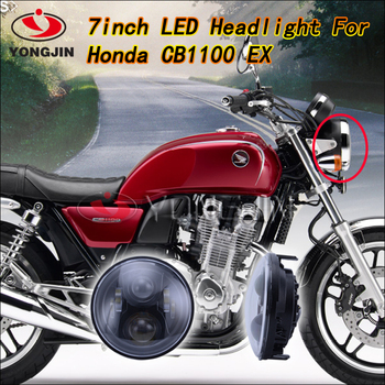 2016 New Products 6000K IP67 Waterproof LED Headlight For Honda Motorcycle CB1100 EX ABS