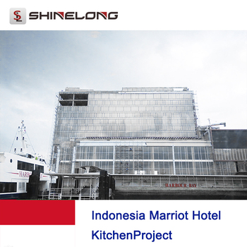 Indonesia Marriot Hotel kitchen project