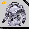 Wholesale custom camo mens long sleeve tshirt