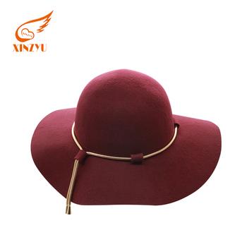 824c8acdca64a Wool Fedora Hat Hawkins Felt Cap Wide Brim Ladies Trilby Fedora Hat ...
