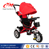 Comfortable and Safe design Children Tricycle Parts / Cheap Price Tricycle for Children/Metal Children Tricycle rubber wheels