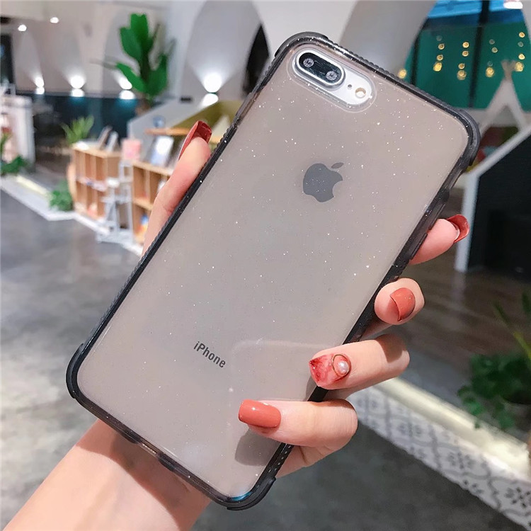 Bling  bling TPU phone case for  iphone X,case for Iphone XS XR MAX,case for iphone 6/6s/7/8