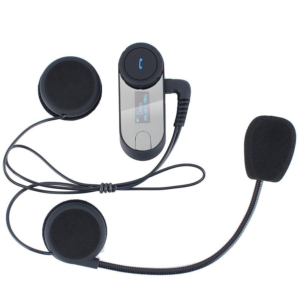 3 riders 800M motorcycle blue tooth intercom headset with LED
