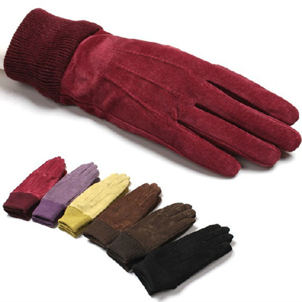 Honey winter fashion glove sexy leather glove for women accessory